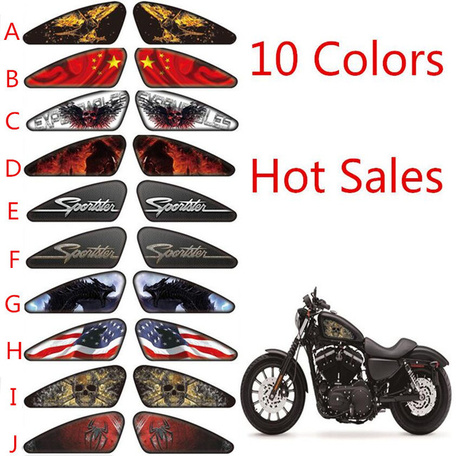 Motorcycle Stickers Motorcycle Decals D Emblem Tank Traction - Stickers on motorcycles