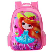 2019 Children School Bag Girls Kids Satchel Primary school backpack princess Orthopedic Backpack schoolbag kids Mochila Infantil(China)