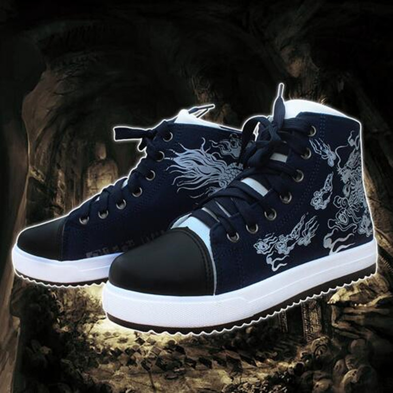 New Arrival Rob A Tomb Notes Kylin Zhang Unisex High Quality High-top Canvas Sport Breathable Shoes Skid XHDMxz0005