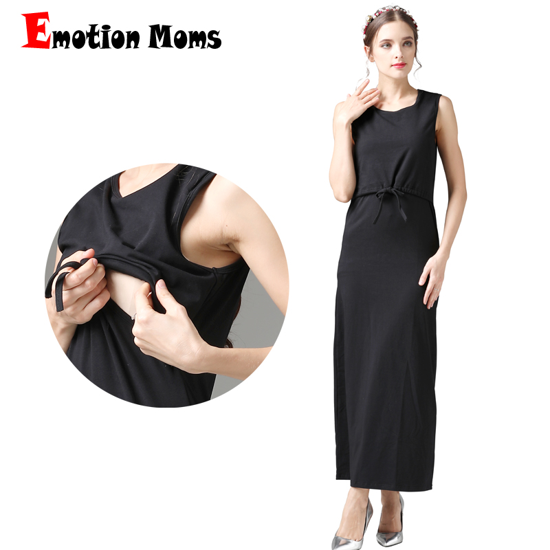3fc269028b5 Emotion Moms New maternity clothes Breastfeeding Dresses nursing dress  pregnancy clothes for Pregnant Women maternity dress