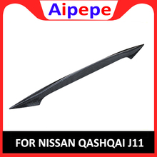 Rear Door Trim Car Trunk Spoiler Cover Sticker Wing Styling for Nissan Qashqai Dualis J11 2014 2015 2016 2017