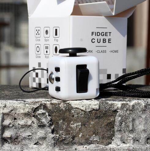 Hot Fidget Cube Toys Squeeze Fun Stress Reliever Toys Fidget Cube Relieves Anxiety and Stress Toy