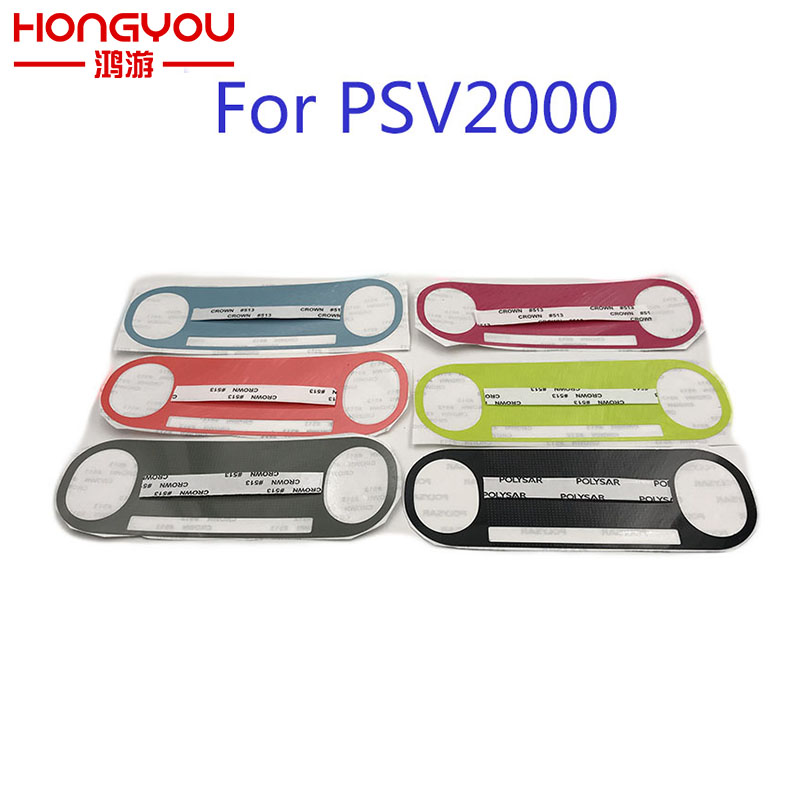 Painted color stickers Label For PlayStation VITA 2000 Label For PSV 2000 Host computer Sticker