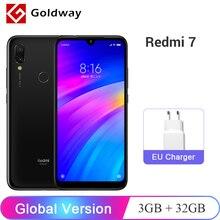 Stokta! Küresel Sürüm Xiaomi Redmi 7 3 GB RAM 32 GB ROM Cep Telefonu Snapdragon 632 Octa Çekirdek 12MP 6.26
