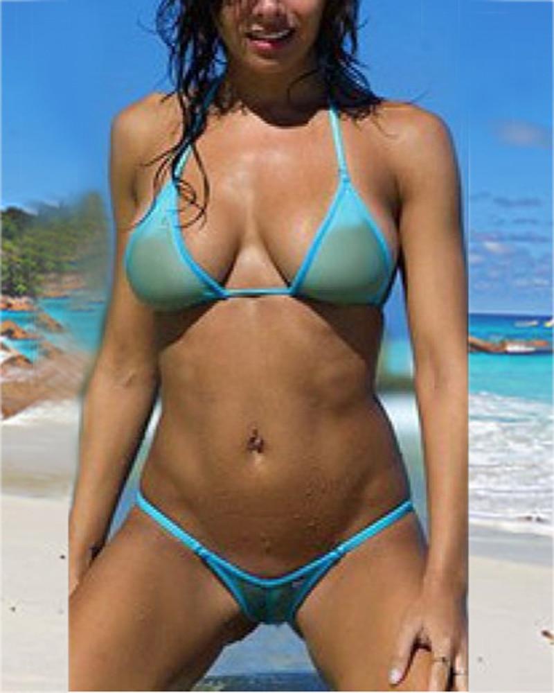 See through bikinis