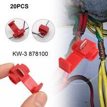 20 шт. провода кабельные разъемы клеммы обжимной скотч замок Быстрый Сращивание Электрический автомобильный аудио 22-10AWG 0,5-1 мм набор инструментов YL5