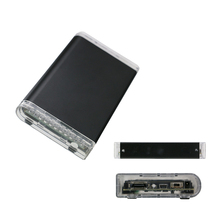 1piece/lot Aluminum Sata to Esata HDD/SSD boxes 2.5 » USB 2.0 HDD Hard Disk box fast Speed External esata Hard Drive case U25ESH