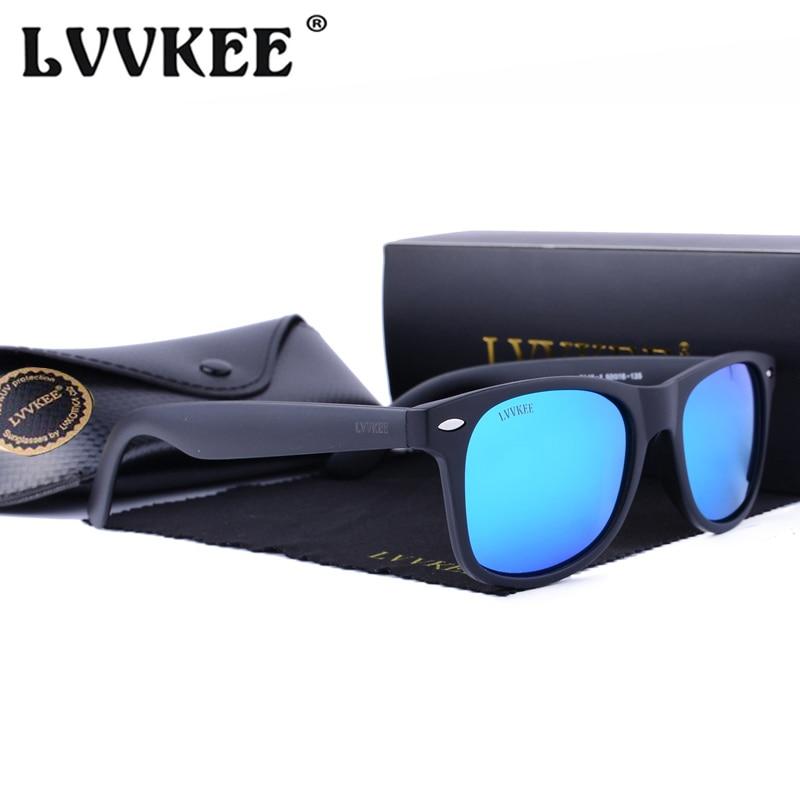 HOT LVVKEE marke Frauen Polarisierte Sonnenbrille Klassische Rivet - Bekleidungszubehör