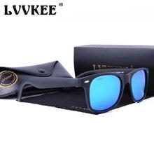 HOT LVVKEE женщин Поляризованные солнцезащитные очки Классический Заклепка Путешествия Солнцезащитные очки для мужчин 2140 Oculos Gafas De Sol с оригинальным чехлом