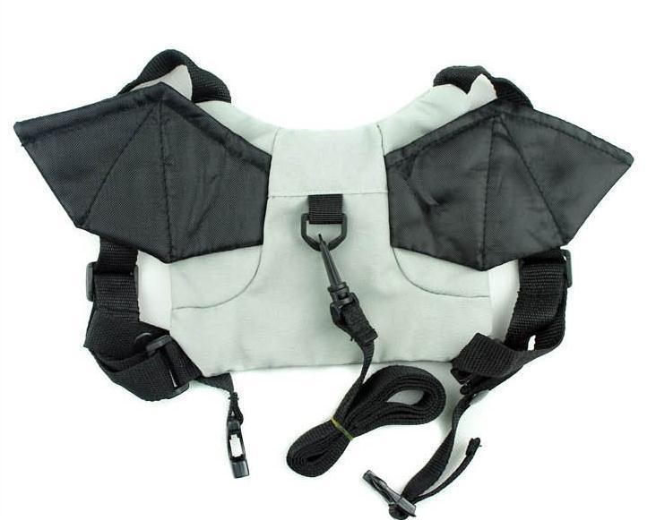 50 шт в наборе, приятель «божья коровка» и «летучая мышь» для маленьких накладной рюкзак с анти-потерянный ремень/Малыш Жгут - Цвет: bat