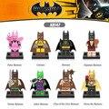 Горячая DC comics catman цифры кирпичи super heroes Пижамы Тартан Фея Джокер Бэтмен строительный блок совместимо с legoe игрушки