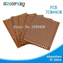 5Pcs DIY Prototype Paper PCB Universal Experiment Matrix Circuit Board 7x9cm 7*9