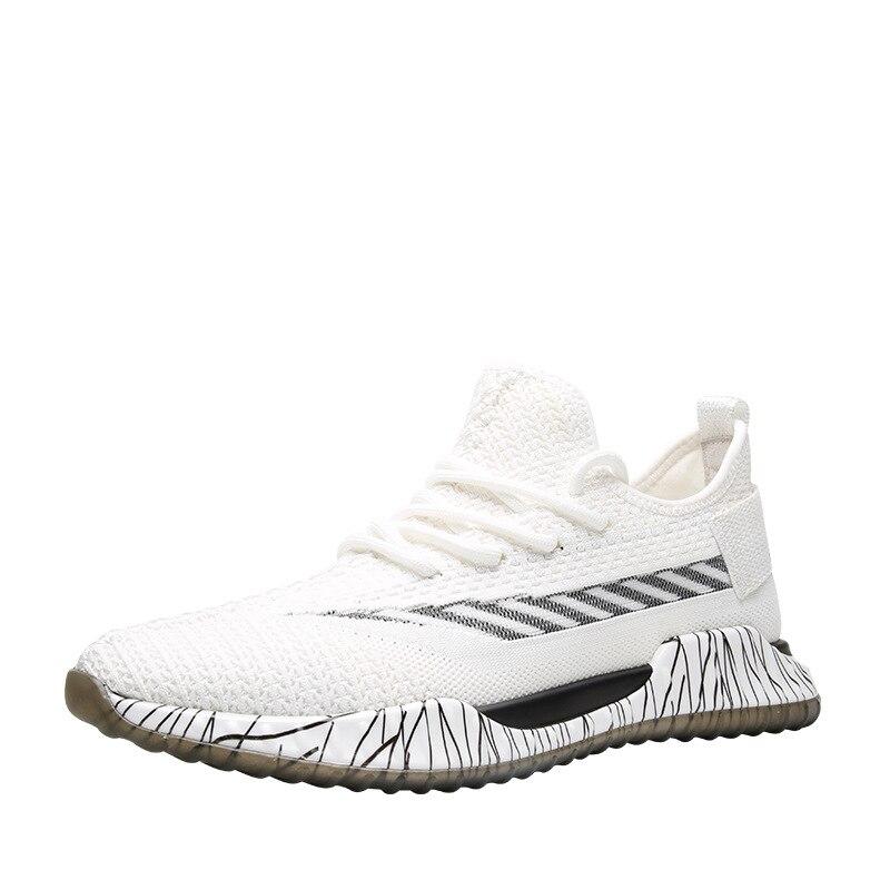 Homens Vulcanize up Malha Calçado 2019 Andando Leve De Sapatilha Respirável Lac Moda Sapatos Confortáveis Casuais S58qf4w