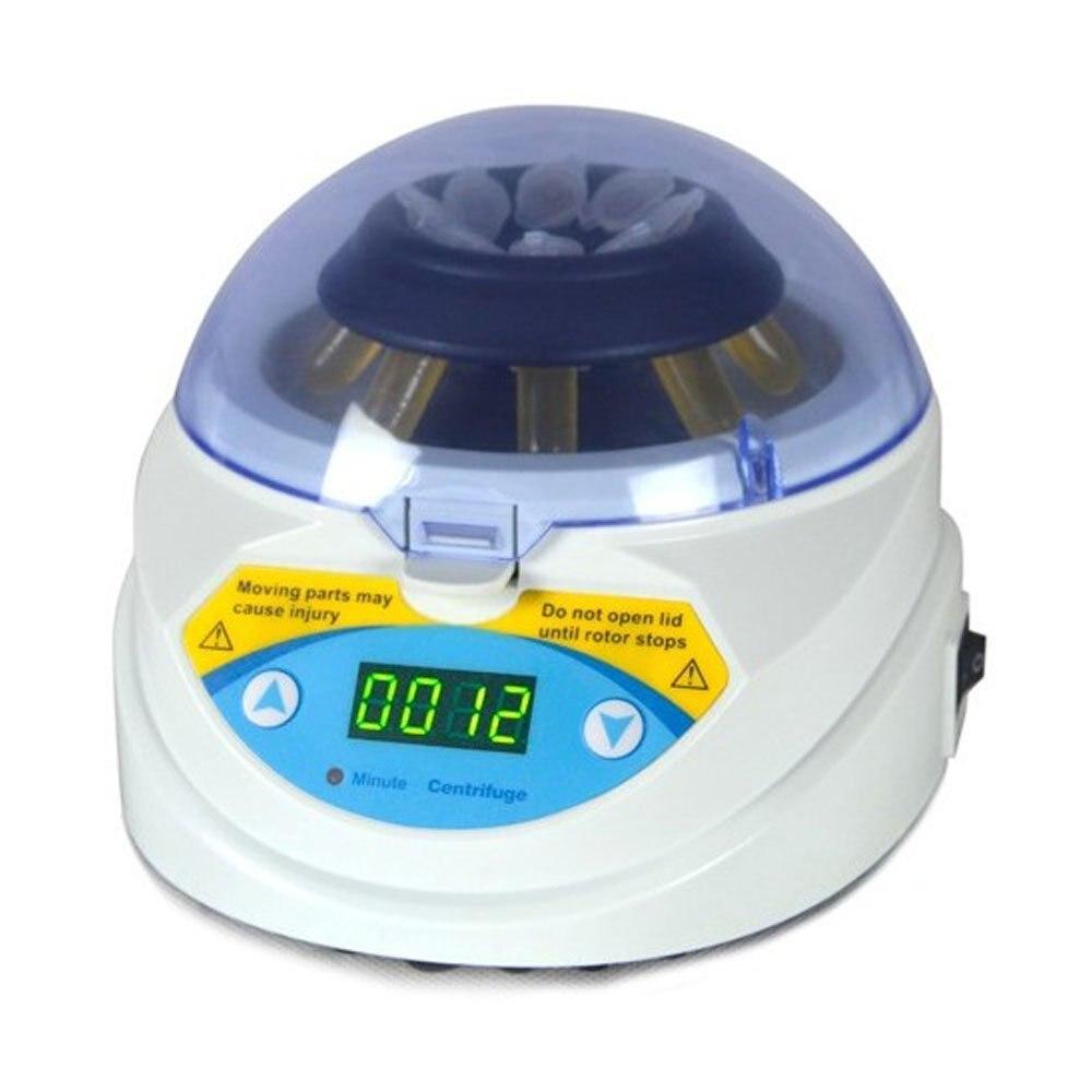 MINI-6K Mini Centrifuge,6000RPM Lab Digital Mini Centrifugal with Time Setting microcentrifuge mini 6k mini centrifuge 6000rpm economic