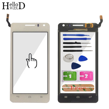 Factory Price Touch Screen Glass Digitizer Panel For Huawei G600 U8950 U8950D Lens Sensor Touchscreen Front Glass Adhesive Tools 10pcs lot for huawei ascend g610 c8815 g610 u20 touch screen touch panel sensor digitizer front outer glass lens touchscreen