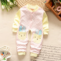 2016 Unisex Baby Romper Winter Coral Fleece Jump suit