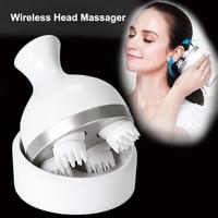 Waterproof Electric Head Massage Wireless Scalp Massager Prevent Hair Loss Body Deep Tissue Kneading Vibrating Health Care New