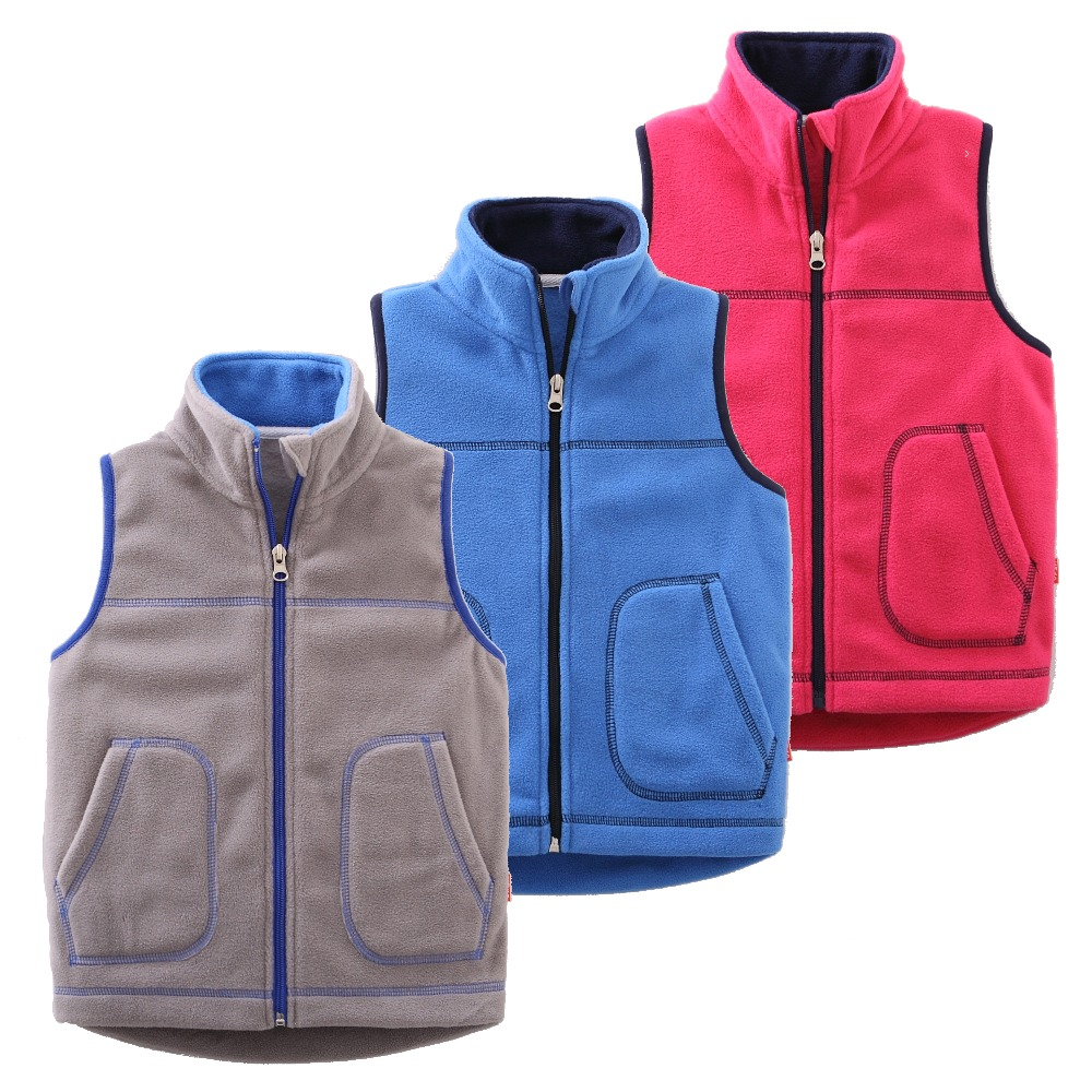 U2267Candy-Colors Soft Fleece U2022u0300 U2022u0301 Kids Kids Vest Waistcoats Childrenu0026#39;s Waistcoats Coat Sleeveless ...