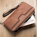 2017 men's casual wallets man monederos long wallet male clutch famous visiting cards purse case luxury brand women's handy bags