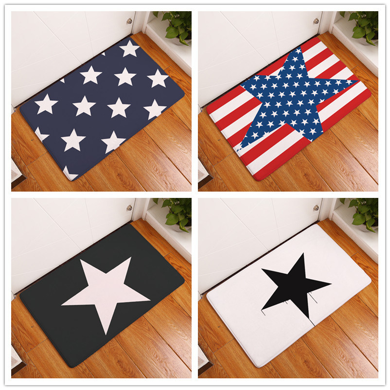 2017 New Home Decor Star Series Carpets Non Slip Kitchen Rugs For Home Living Room