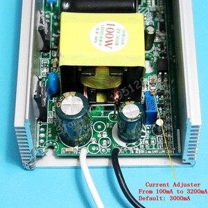 Image 4 - High PF 3000mA 100W DC 30V   36V Current Adjustable Isolated Constat Current LED Driver for 100w led chip diy AC 110V 220V