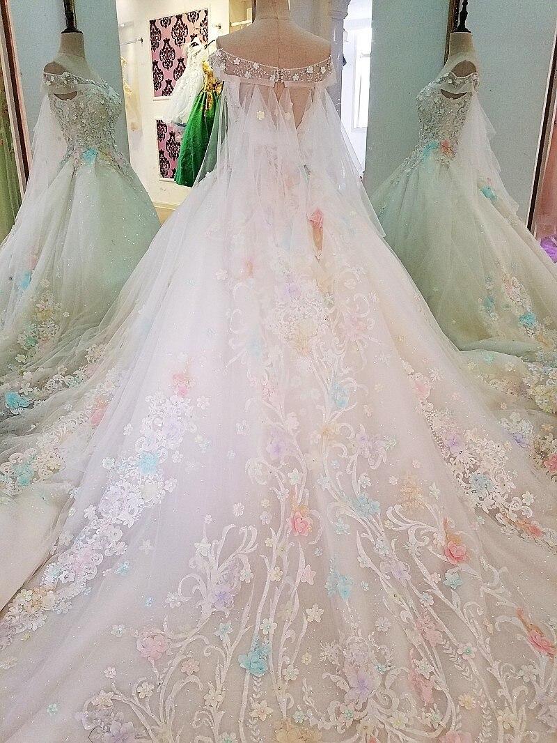 Großzügig Weg Von Der Schulter Spitze Hochzeitskleid Bilder ...