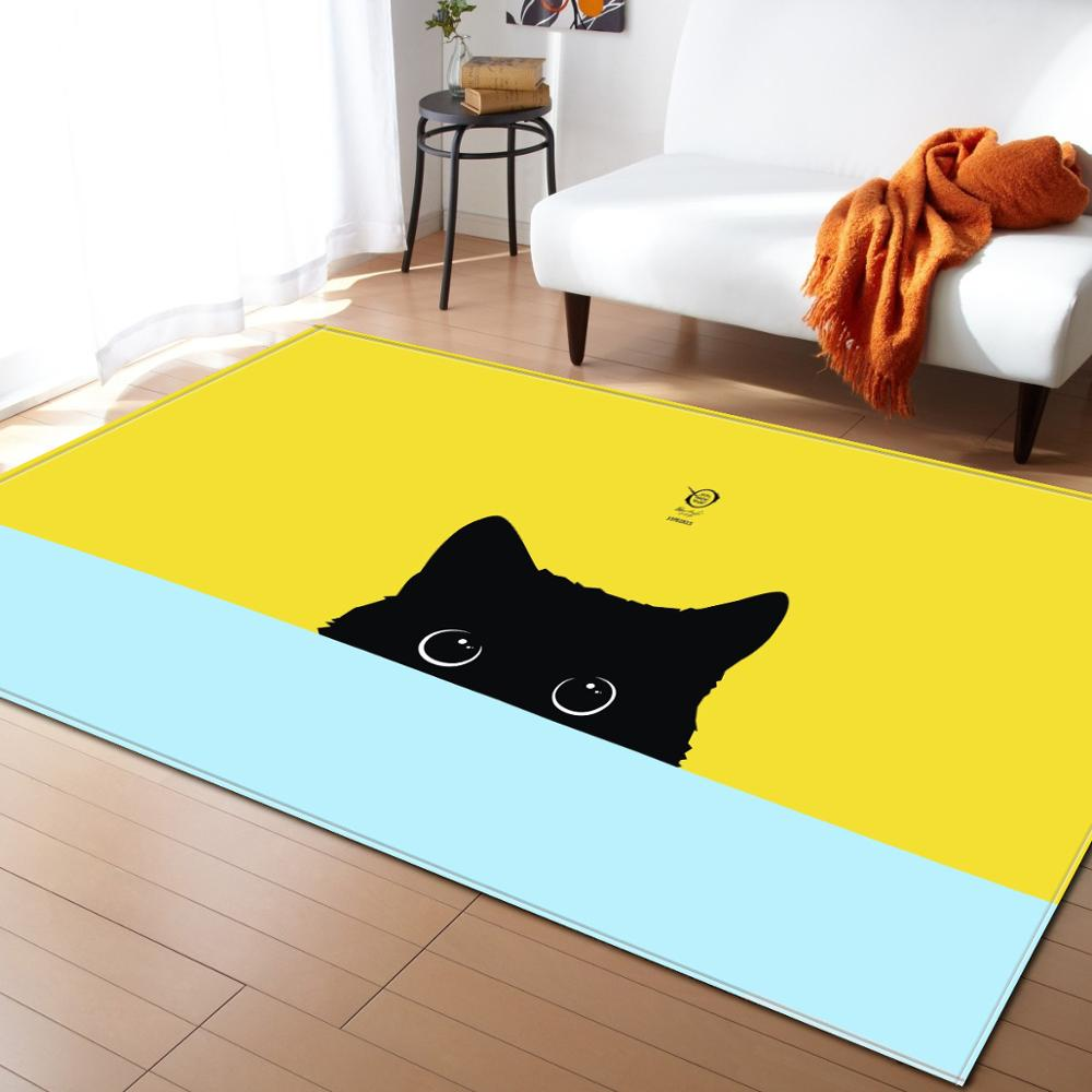 Cartoon Child Bedroom Carpet Animal Print Mat/Carpets for living room Rugs Kids Room Toy Game Storage Organizer Crawl tapete Rug