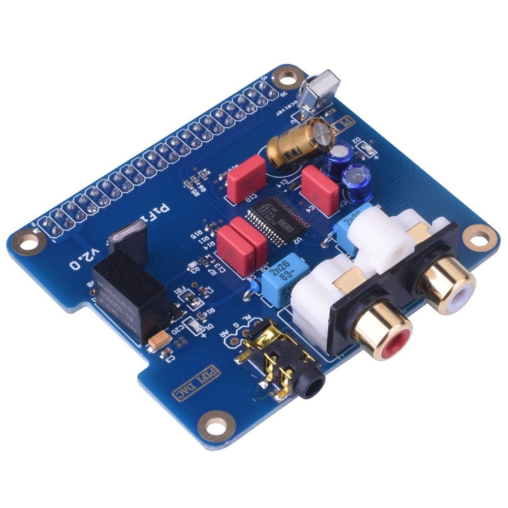 Miroad PIFI Digi DAC+ HIFI DAC Audio Sound Card Module I2S interface for Raspberry pi 3 2 Model B B+ Digital Audio Card  SC08 raspberry pi 3 digital sound card hifi digi expansion board i2s spdif module acrylic case for raspberry pi 2 for raspberry pi b