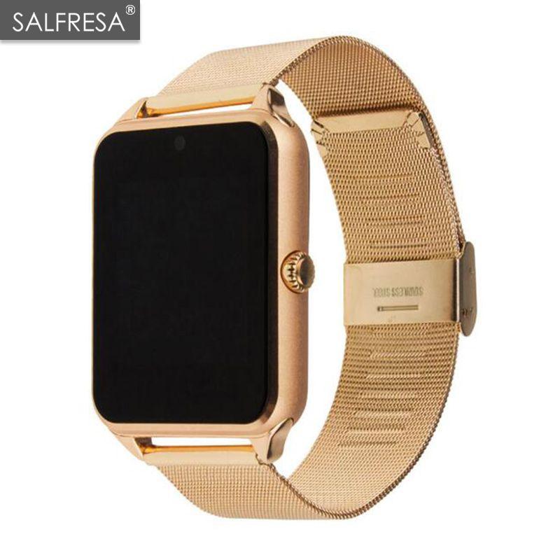 Unterhaltungselektronik Smart Uhr Gt08 Plus Metall Strap Bluetooth Handgelenk Smartwatch Unterstützung Sim Tf Karte Android & Ios Uhr Multi-sprachen Pk S8 Z60 Wir Haben Lob Von Kunden Gewonnen