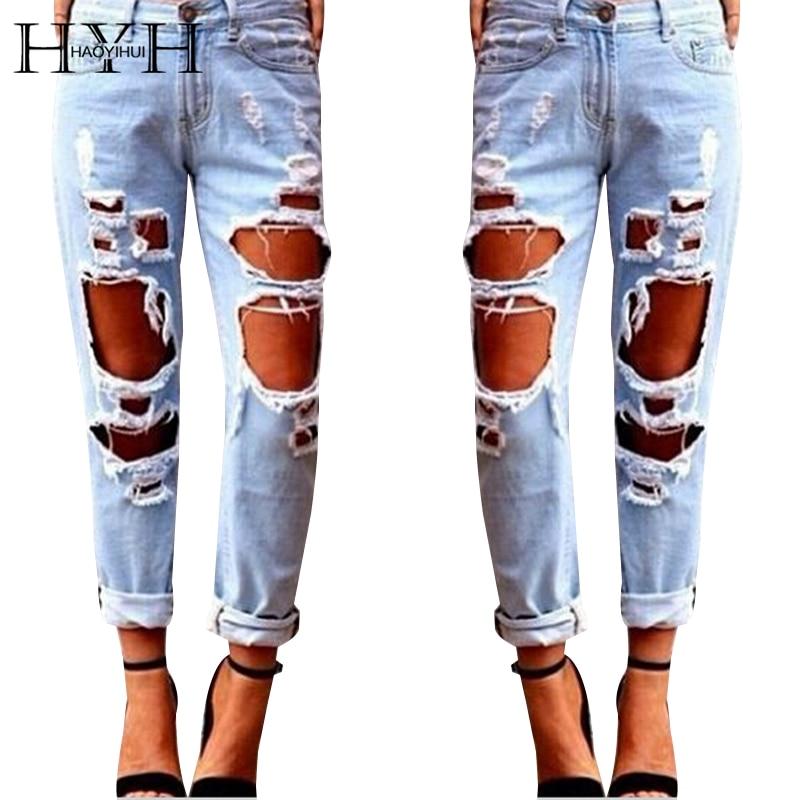 Online Get Cheap Boyfriend Ripped Jeans -Aliexpress.com | Alibaba ...