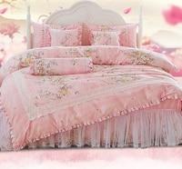 bedspread princess lace bedspread 8 pieces set owedding bed products