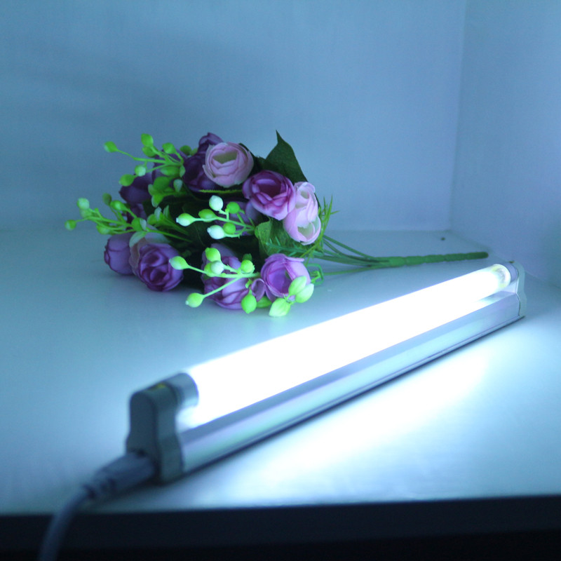 Convenience T5 UV Quartz linear Lamp For Sterilization and Disinfection with fixture and a eballast , Ultraviolet 4W 6W 8W