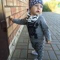 Солнце Луна Дети Мода Baby Boy/Девушка Одежда Костюмы Дети Одежда Набор Новорожденных Мальчиков Одежда Для Девочек Костюмы для Новорожденных наборы