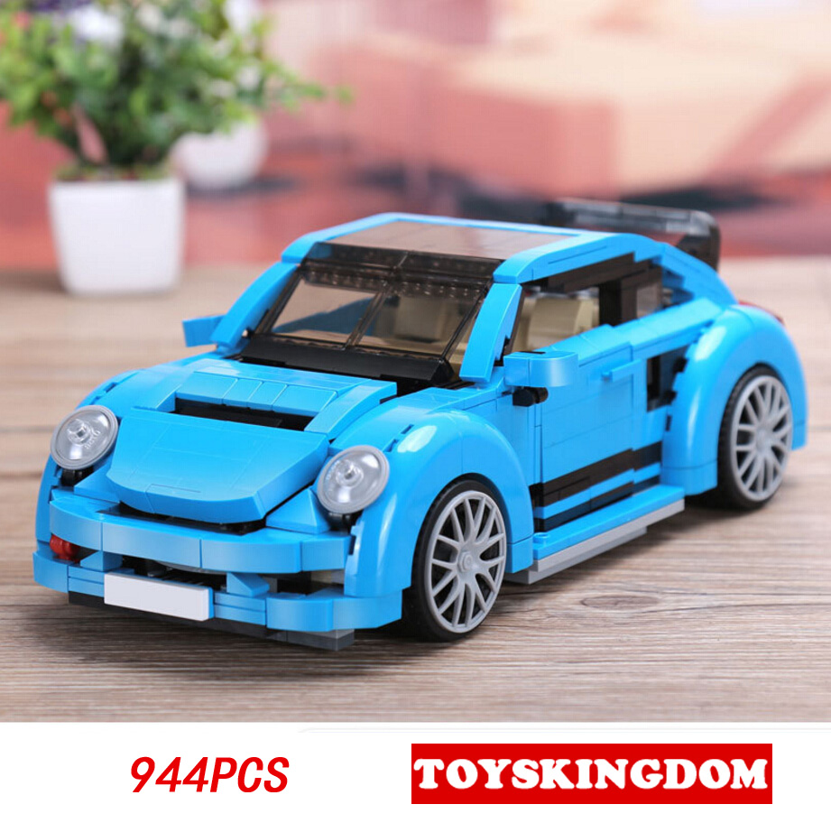 New Technics dream cars 1:13 scale VW Beetles moc building block model 944pcs bricks toys collection for children gifts hot technician technics extreme adventure 2in1 building block model tracked vehicle bricks 42069 toys collection for kids gifts