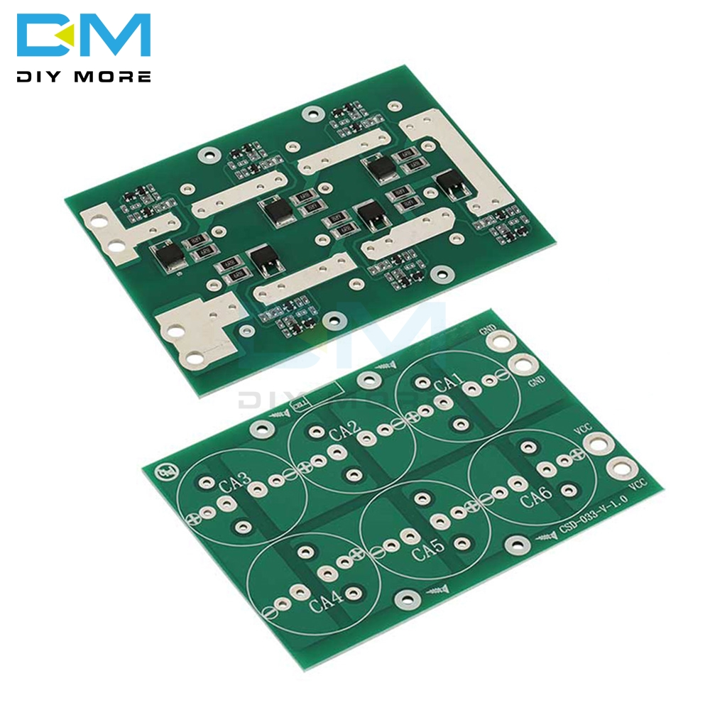 Diymore 2.3V 2.5V <font><b>2.7V</b></font> 2.85V 3V 50F 100F 220F 360F <font><b>400F</b></font> 500F For <font><b>Super</b></font> <font><b>Capacitor</b></font> Farad Balance Protection Board Plate image