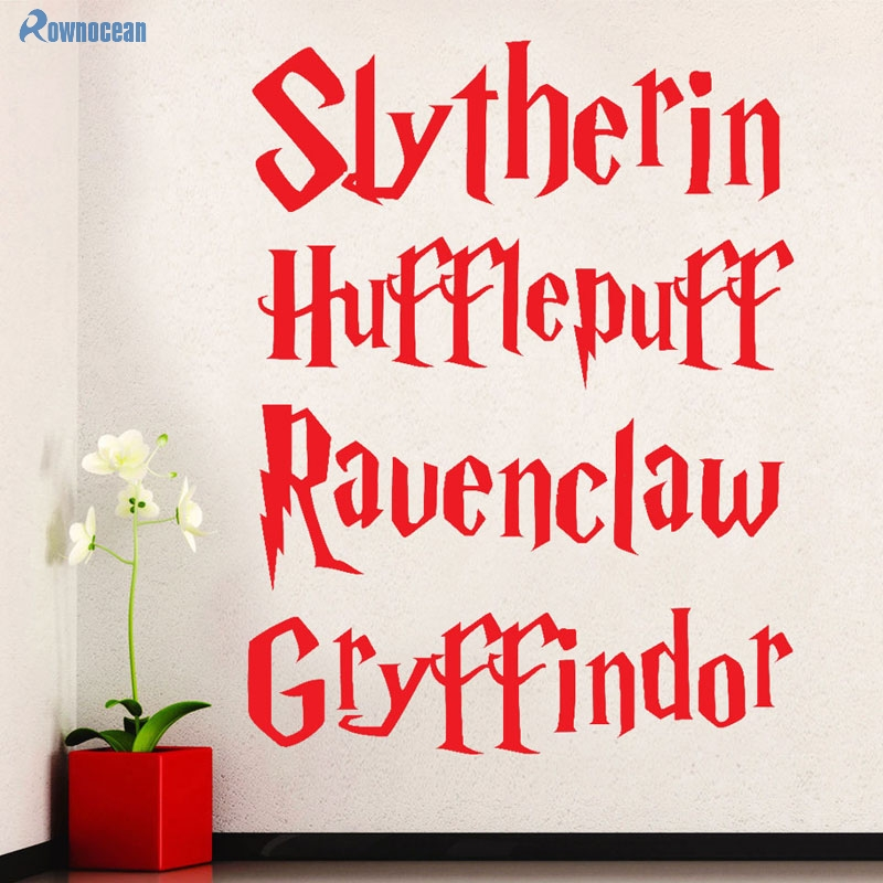 Harry Potter Wall Decal Movie Quote Poster Vinyl Sticker Kids Decor
