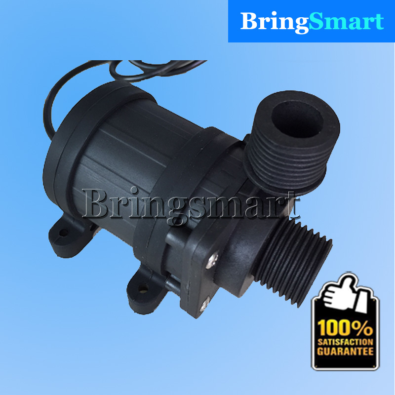 Free shipping JT-800BX 900L/H 12V 24v Mini DC Brushless Solar Energy Booster Water Pump Bathing Machine Water Pump Bringsmart фото