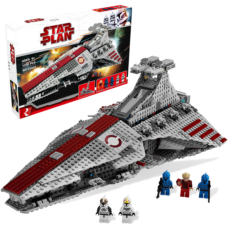 Lepin 05042 Star Wars Republic Attack Cruiser building bricks blocks Toys for children Game Weapon Compatible with Decool 8039 lepin 02012 city deepwater exploration vessel 60095 building blocks policeman toys children compatible with lego gift kid sets
