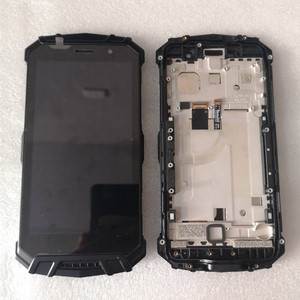 Image 1 - Original For DOOGEE S60/S60 Lite LCD Display With Frame+Touch Screen Digitizer Assembly 5.2inch Replacement Glass + Repair Tools