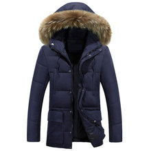 М-3xl! зимнее Пальто Мужской Моды Куртка Пальто Мужчины Зимняя Куртка мужская Мужской Утолщение Белая Утка Пуховик пальто Вниз куртка Пальто