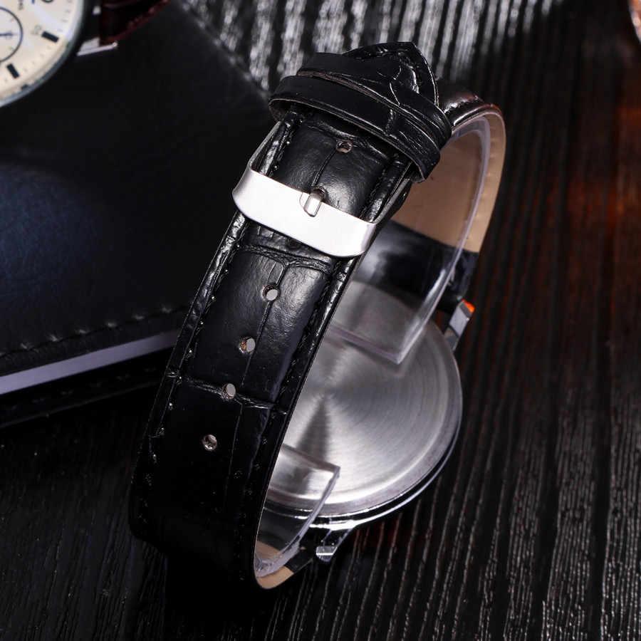 Saatleri Blu Ray Kính Đồng Hồ Thạch Anh Trung Lập Mô Phỏng Đồng Hồ Đeo Tay mens đồng hồ thương hiệu hàng đầu sang trọng Masculino Reloj Món Quà Tốt Nhất @ 5