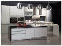 PVC Vinyl Kitchen Cabinet LH PV085