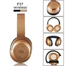 P37 Bluetooth 4.2 + EDR fone de ouvido Sem Fio Fones De Ouvido bluetooth Headset Hifi Stero Música Som Fone De Ouvido com Microfone Para Iphone Xiaomi