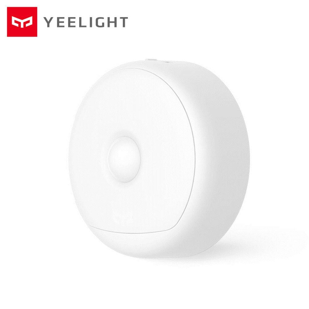 Original Xiaomi Yeelight LED Rechargeable Motion Sensor Smart Night light Infrared Remote Control Wardrobe Bedside Lamps