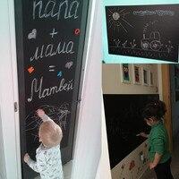 Two Sizes DIY Chalk Board Blackboard Stickers Removable Vinyl Draw Decor Mural Decals Art Chalkboard Wall