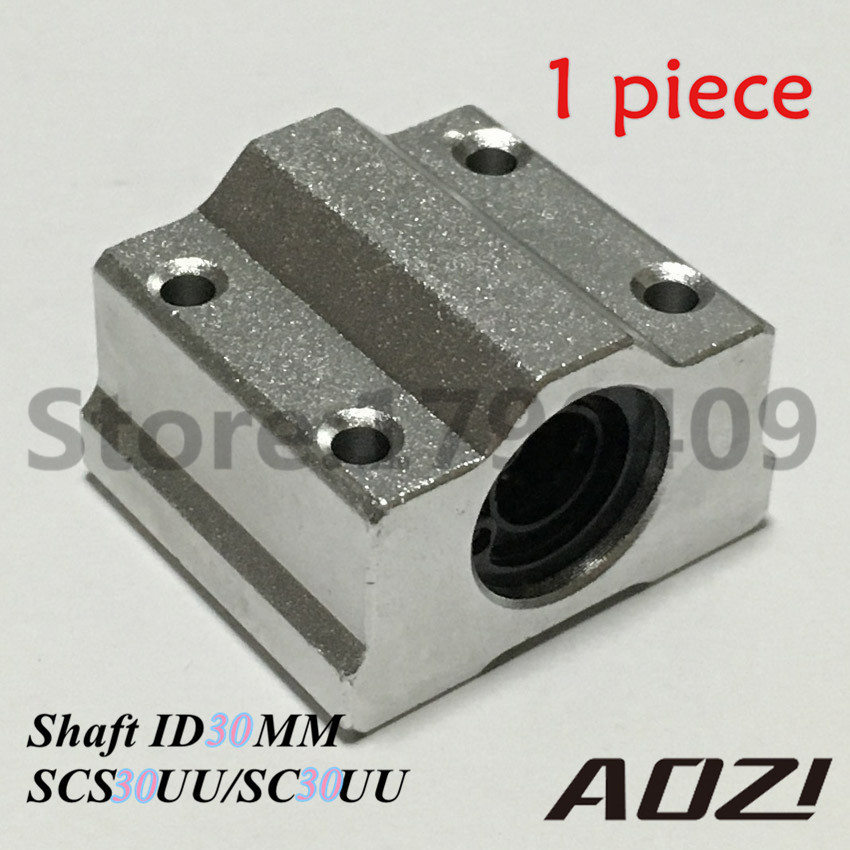 SC30UU SCS30UU 30mm New Linear Ball Bearing Slide Unit 30mm Linear Bearing Block High Precision High Quality