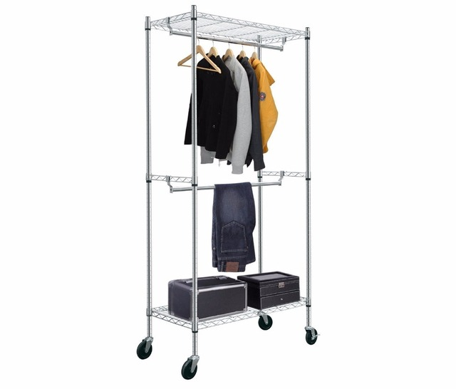 store skudetail n baskets hooks buy rolling rack decorative gridwall slatgrid clothing pages garment on shelving racks display wheels cd
