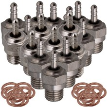 Mxfans 30 x Silver RC1 8 1 10 Spark Glow Plug for HSP N3 15 28