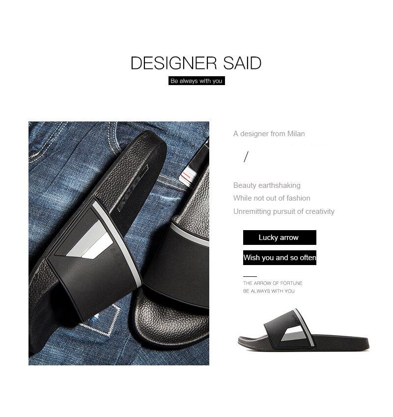 8d5d8f7150ec5 2018 New Bathroom Slippers Men Women Unisex Non-slip Indoor Home Slippers  Fashion Outdoor Beach Flip Flops Summer Slides. Attention  Slippers ...