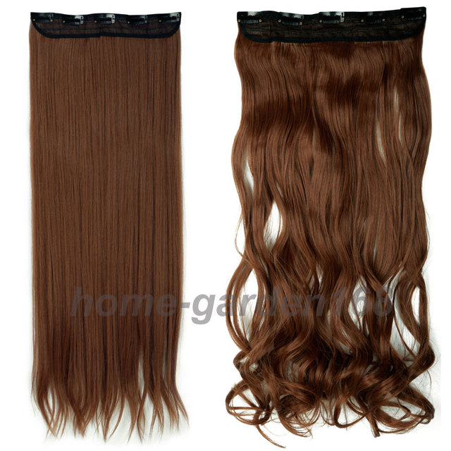 Free shipping super long one piece 5 clips in hair extensions please pmusecretfo Images